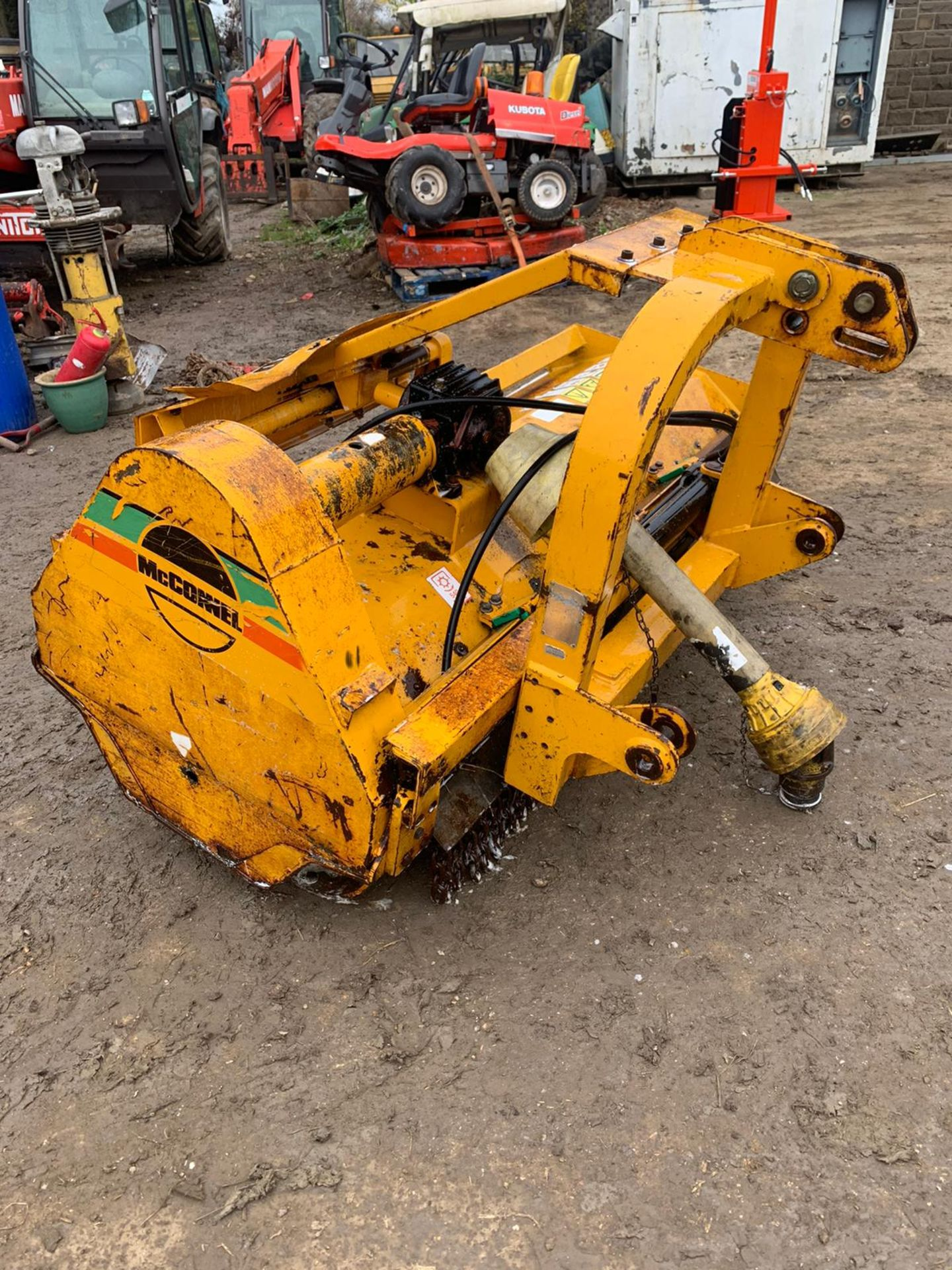 McCONNELL MDL180 FLAIL MOWER, SIDE SHIFT, C/W PTO *PLUS VAT* - Image 4 of 5
