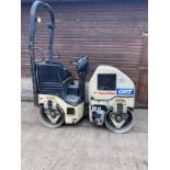 INGERSOLL RAND DD-14 RIDE ON ROLLER, ONLY 537 HOURS *PLUS VAT*