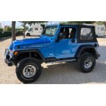 2003 Jeep Rubicon 4.0 Rhd Convertible Spanish registered