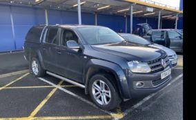 2014 VW AMAROK HIGHLINE 180 TDi 4X4 4-MOTION AUTO SOLD ALL GOOD - NO KNOWN FAULTS - PLUS VAT