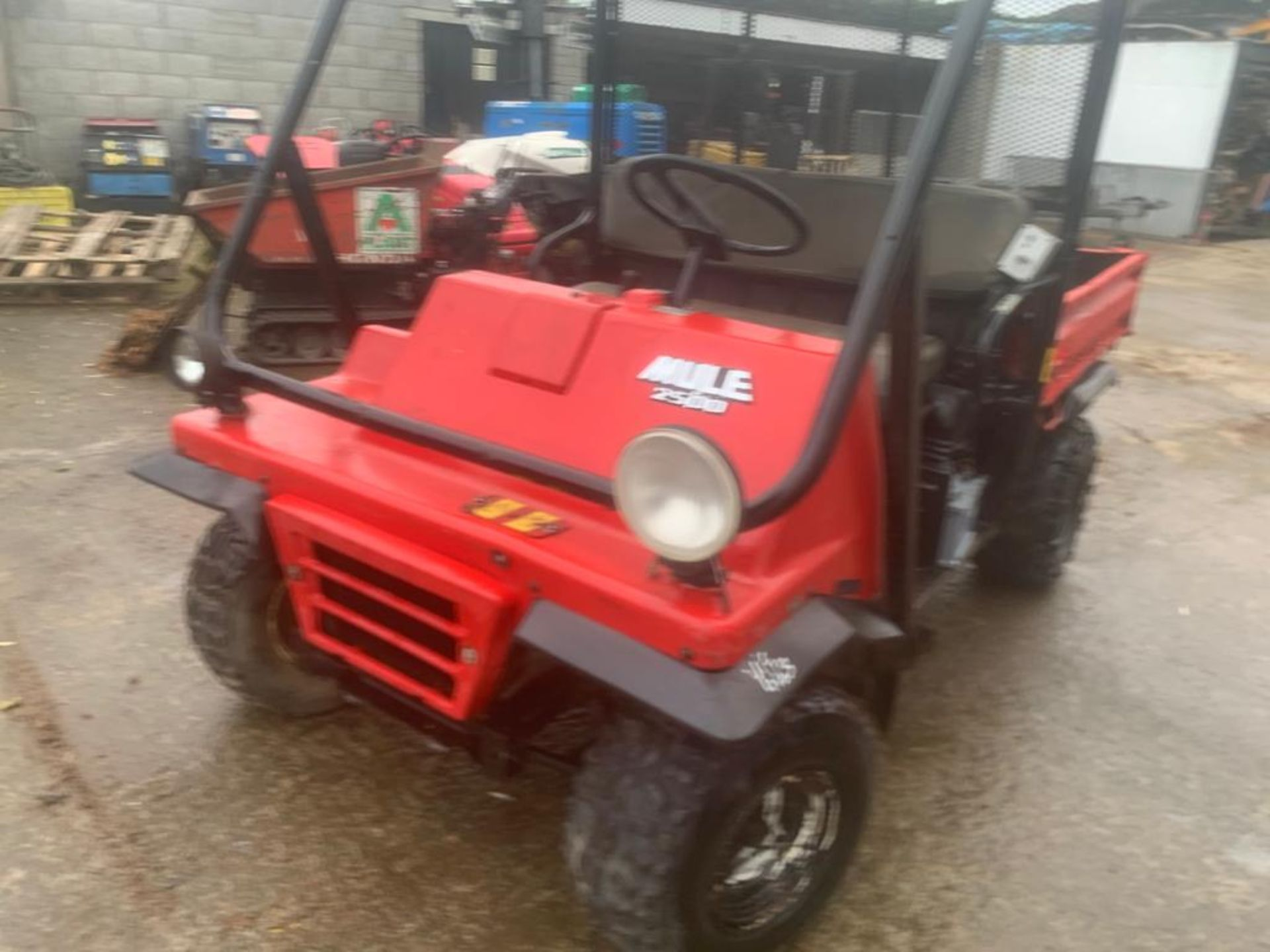 KAWASAKI PETROL MULE, DELIVERY ANYWHERE IN THE UK £300, STARTS, RUNS AND DRIVES *PLUS VAT* - Image 7 of 7