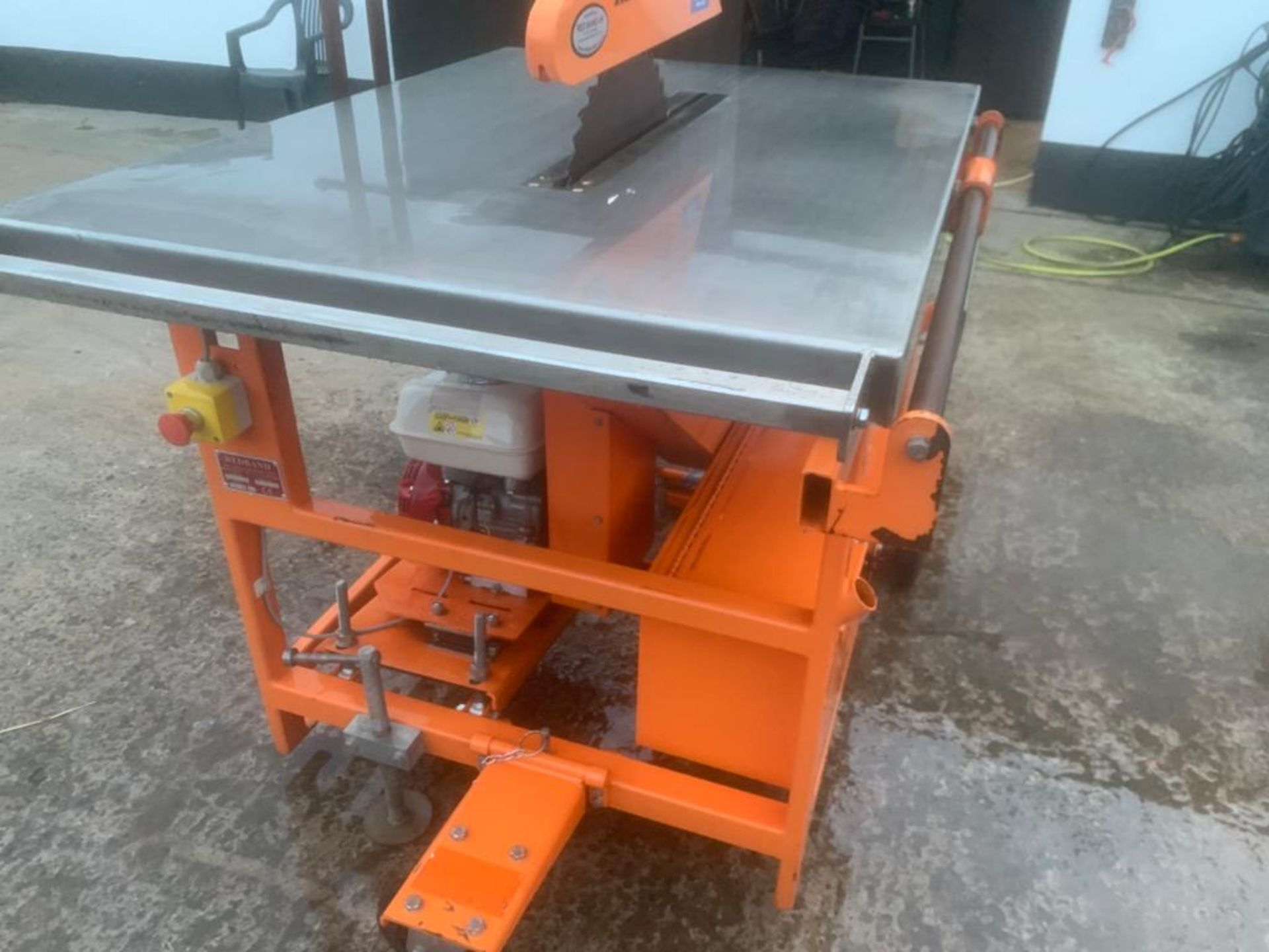 CLIPPER PETROL TABLE SAW *PLUS VAT* - Image 8 of 8