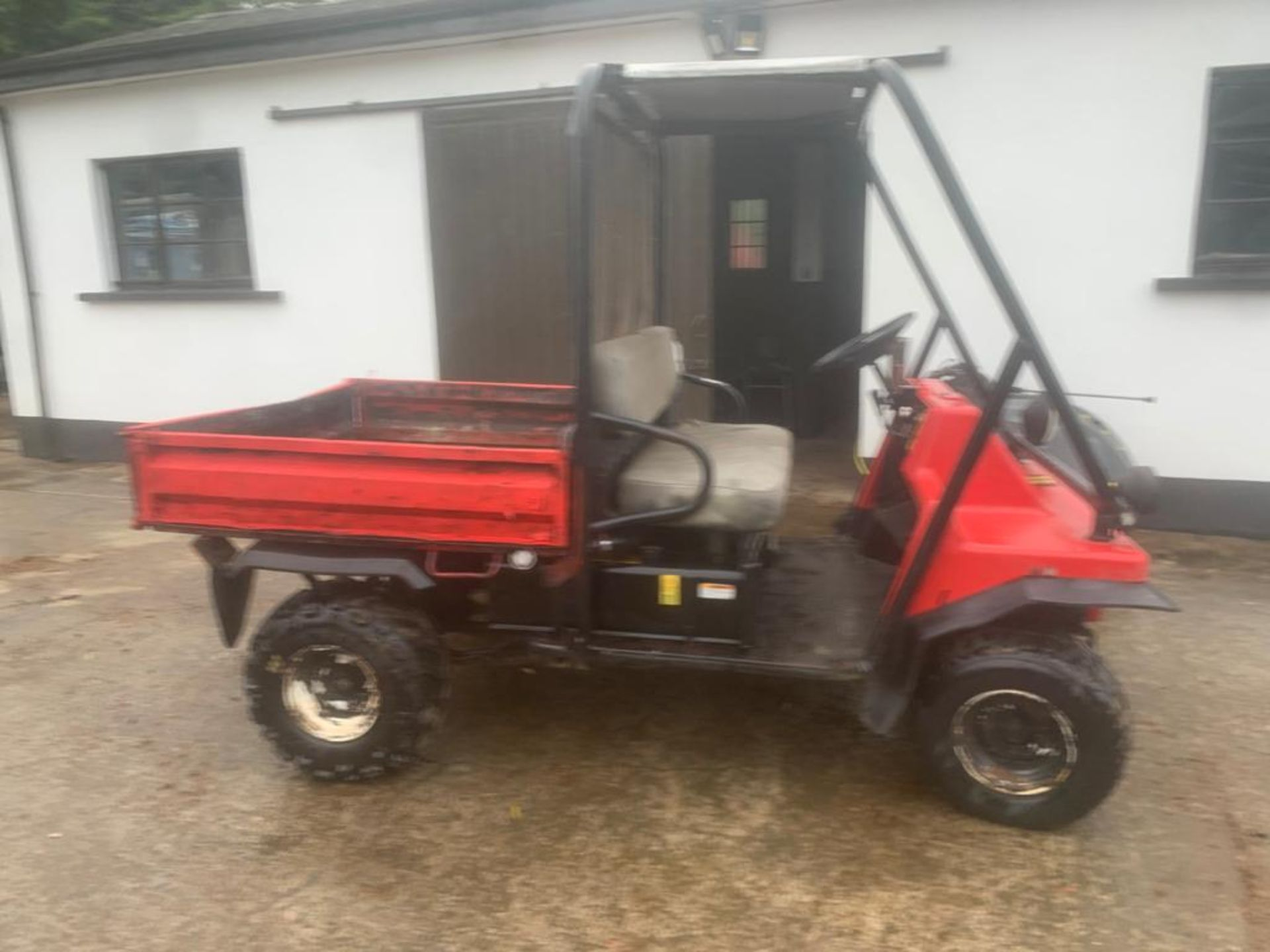 KAWASAKI PETROL MULE, DELIVERY ANYWHERE IN THE UK £300, STARTS, RUNS AND DRIVES *PLUS VAT* - Image 6 of 7