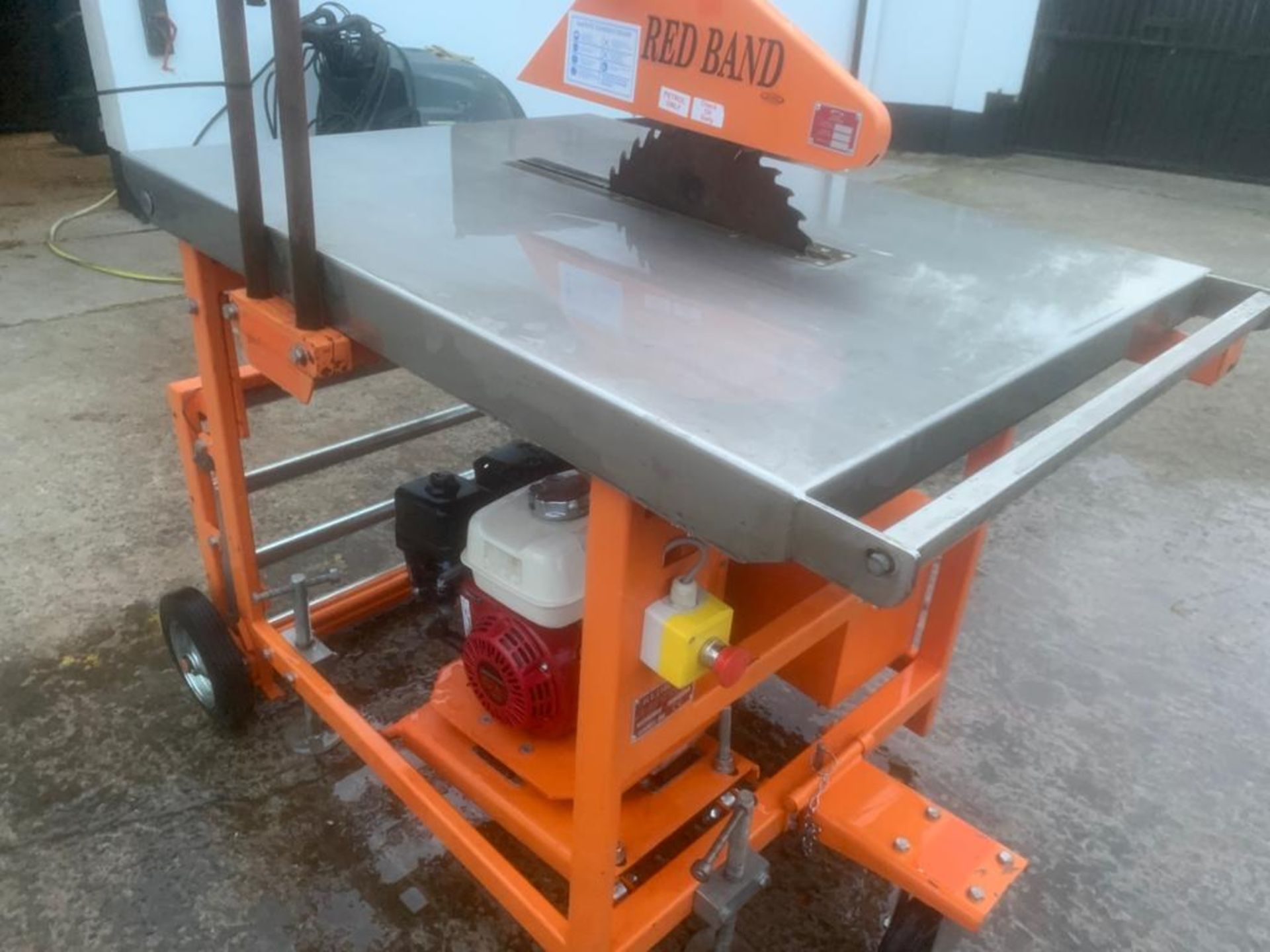 CLIPPER PETROL TABLE SAW *PLUS VAT* - Image 4 of 8