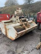 TEREX ATLAS E832-2 GRAPPLE, ROTATING BODY, WEIGHT: 193KG, DONE LITTLE WORK *PLUS VAT*