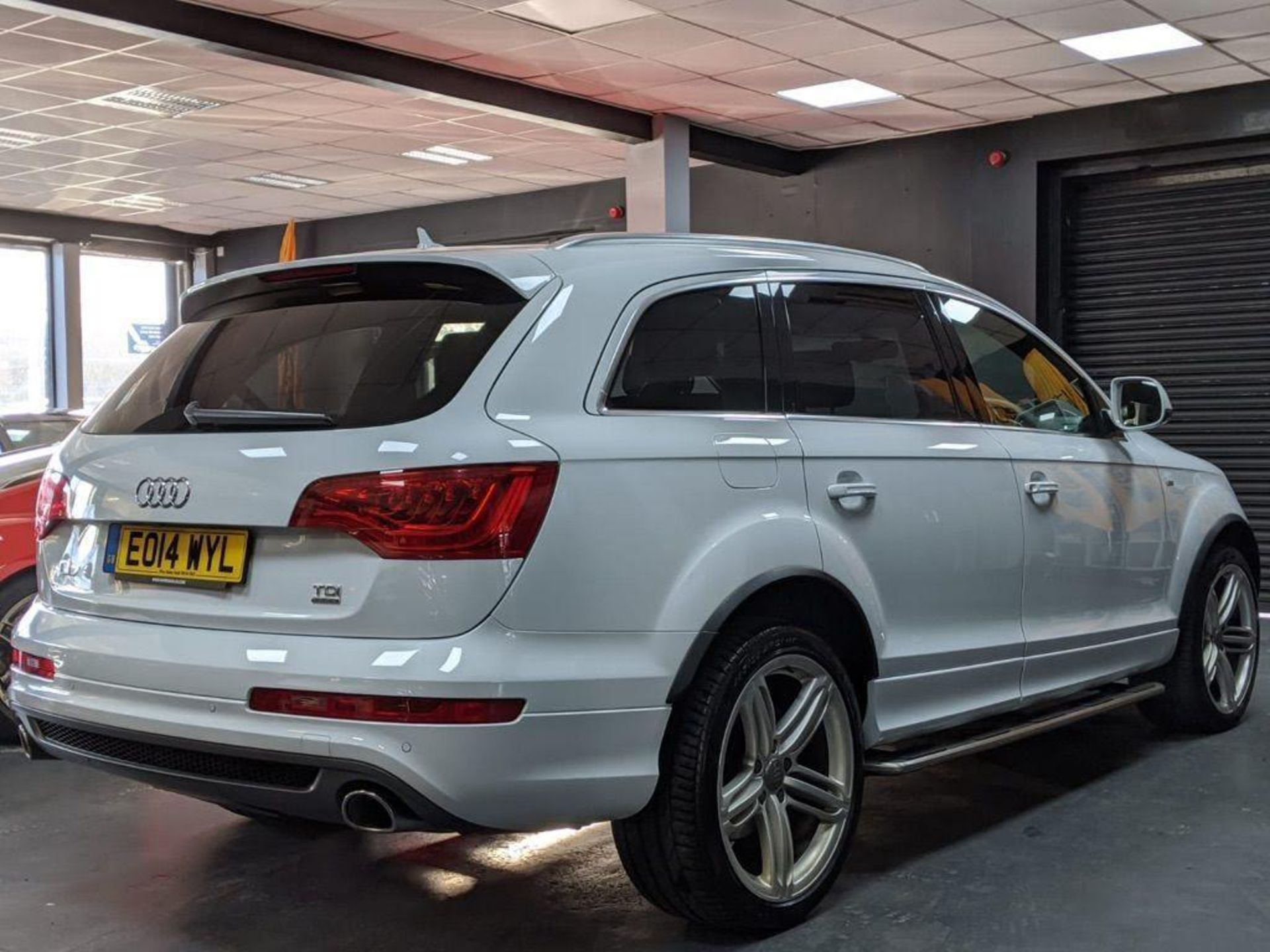 2014/14 REG AUDI Q7 S LINE + TDI QUATTRO 3.0 DIESEL AUTO 245 PS 7 SEAT, SHOWING 3 FORMER KEEPERS - Image 5 of 36