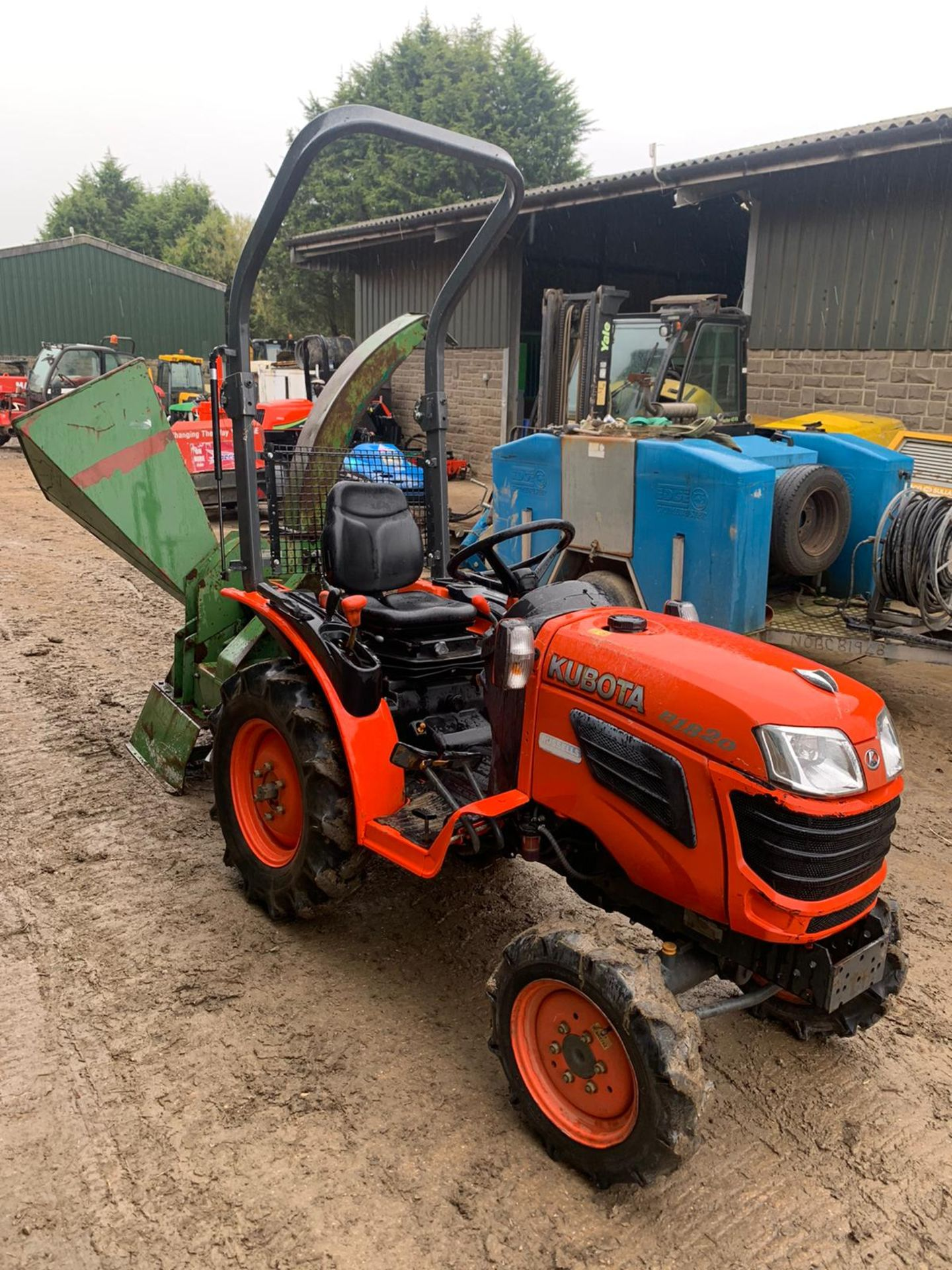 KUBOTA B1820 COMPACT TRACTOR, RUNS, DRIVES AND WORKS, CLEAN MACHINE *PLUS VAT*