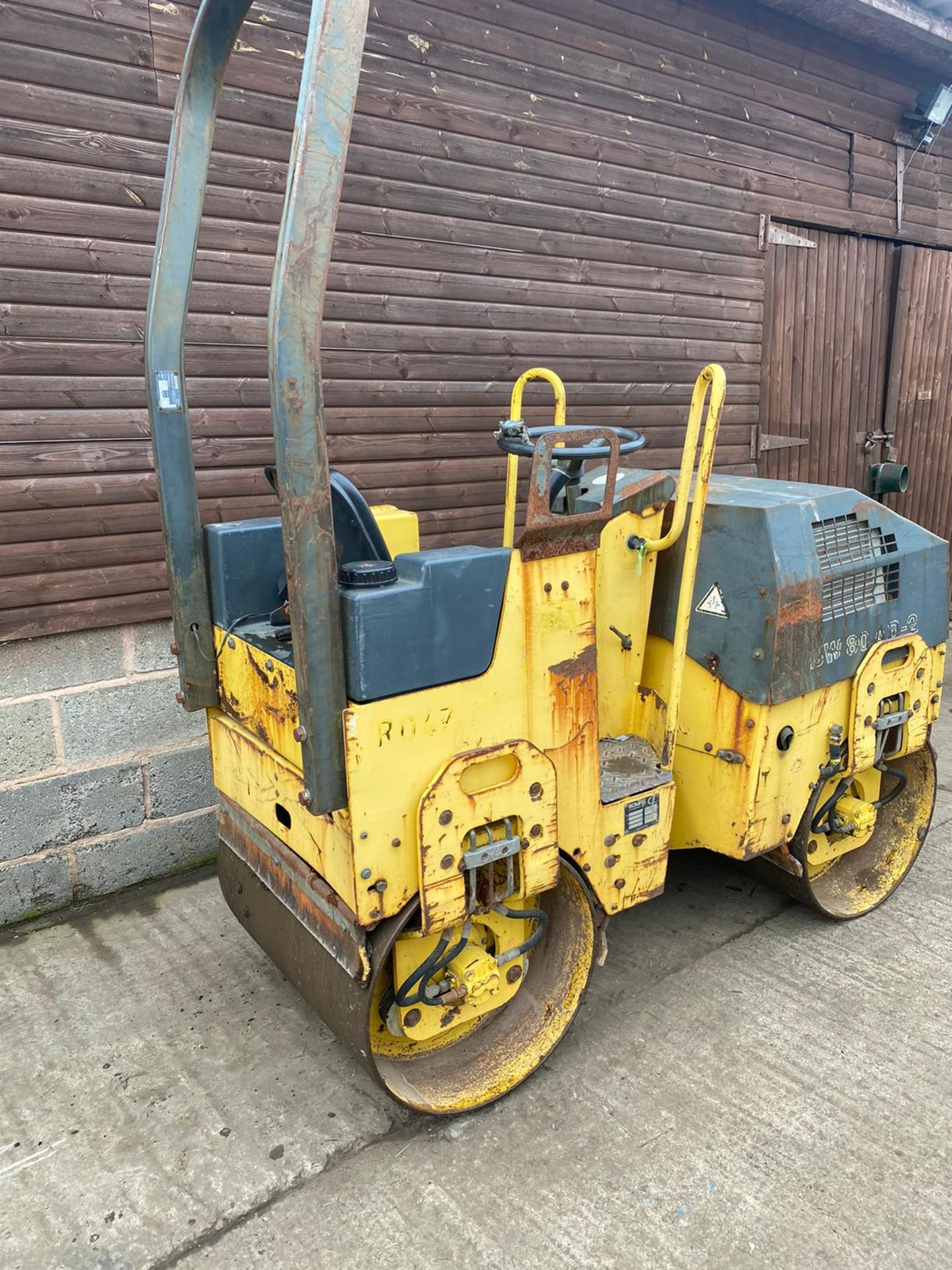 BOMAG BW80AD-2 DOUBLE DRUM ROLLER, ONLY 990 HOURS *PLUS VAT* - Image 5 of 5