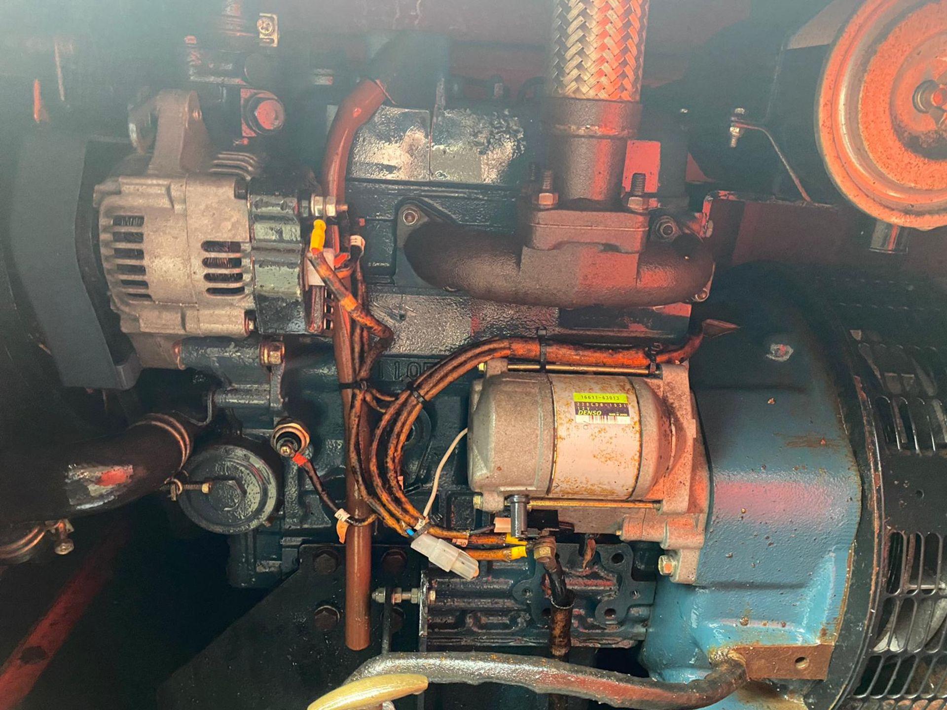 VT1 TOWERLIGHT TOWABLE 10KVA, KUBOTA D1105 ENGINE, 240V 10KVA *PLUS VAT* - Image 4 of 4