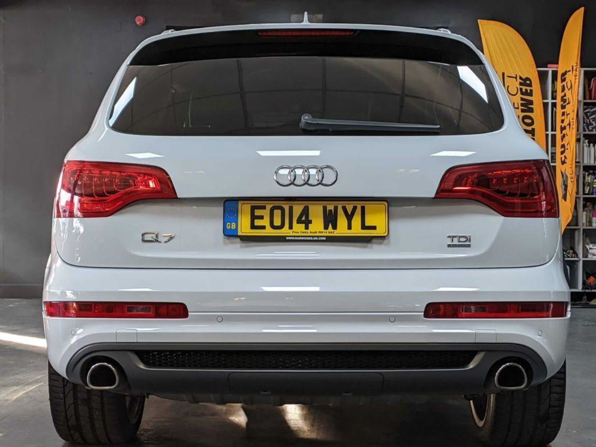 2014/14 REG AUDI Q7 S LINE + TDI QUATTRO 3.0 DIESEL AUTO 245 PS 7 SEAT, SHOWING 3 FORMER KEEPERS - Image 4 of 36