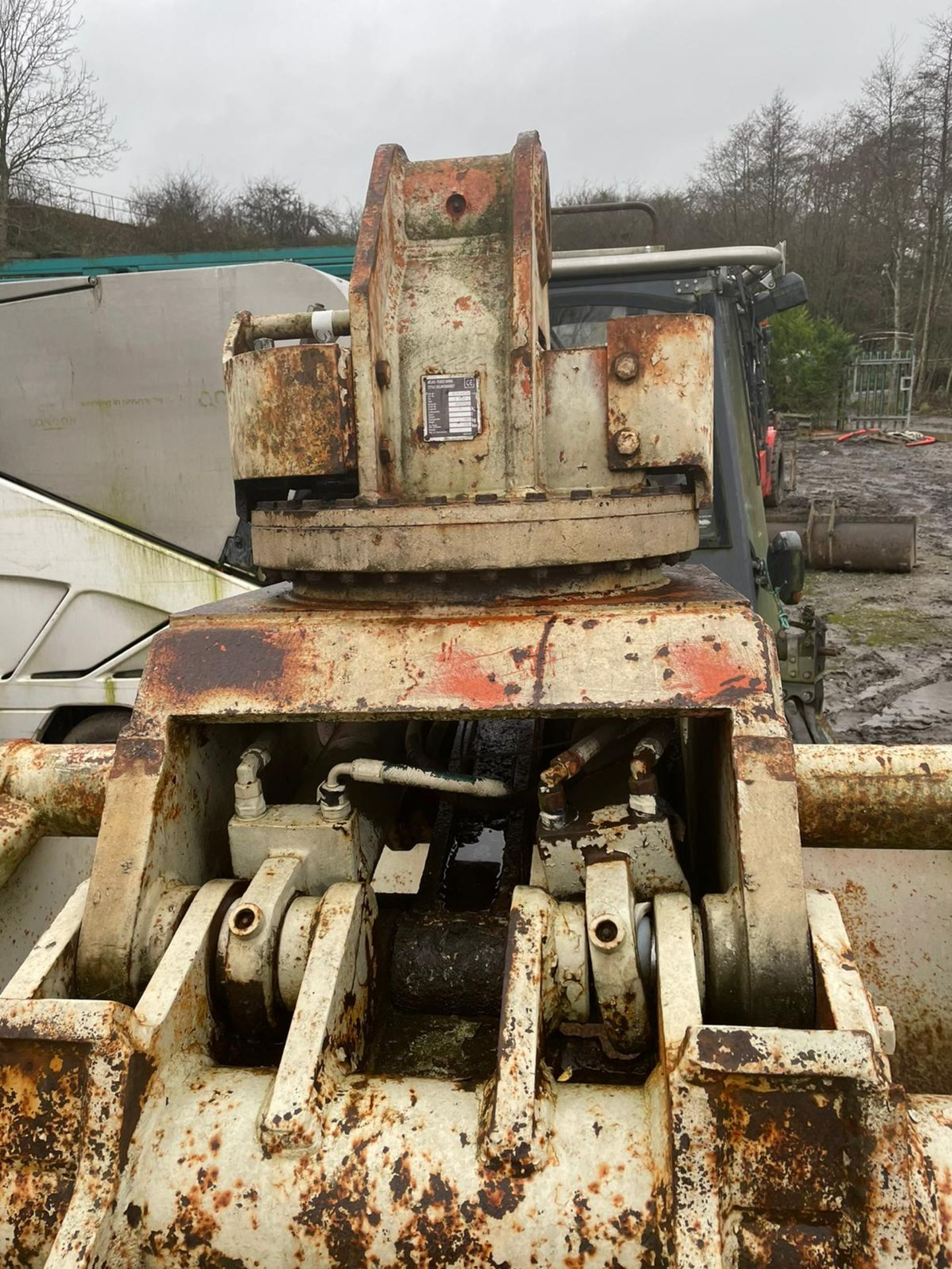 TEREX ATLAS E832-2 GRAPPLE, ROTATING BODY, WEIGHT: 193KG, DONE LITTLE WORK *PLUS VAT* - Image 7 of 8