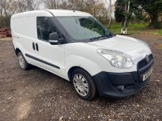 2015/15 REG FIAT DOBLO 16V ACTIVE MULTIJET 1.25 DIESEL CREW VAN, SHOWING 1 FORMER KEEPER *PLUS VAT*