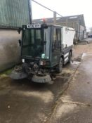 SCHMIDT SWINGO STREET CLEANSING ROAD SWEEPER, SHOWING 1 FORMER KEEPER *PLUS VAT*