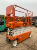 2018 SNORKEL S3226E SCISSOR LIFT, RUNS, DRIVES AND LIFTS, CLEAN MACHINE, LITTLE WORK DONE *PLUS VAT*