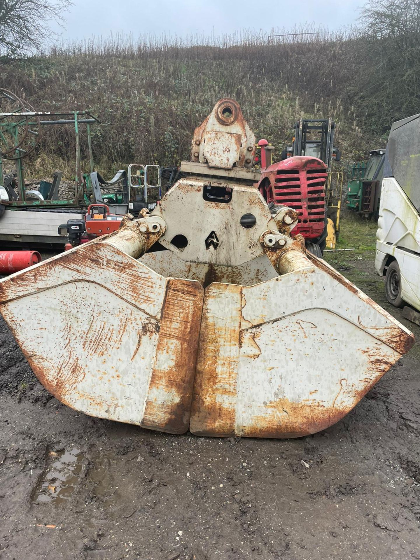 TEREX ATLAS E832-2 GRAPPLE, ROTATING BODY, WEIGHT: 193KG, DONE LITTLE WORK *PLUS VAT* - Image 2 of 8
