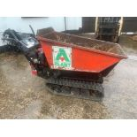 HONDA HI TIP TRACKED PETROL DUMPER, RUNS, DRIVES AND TIPS *PLUS VAT*