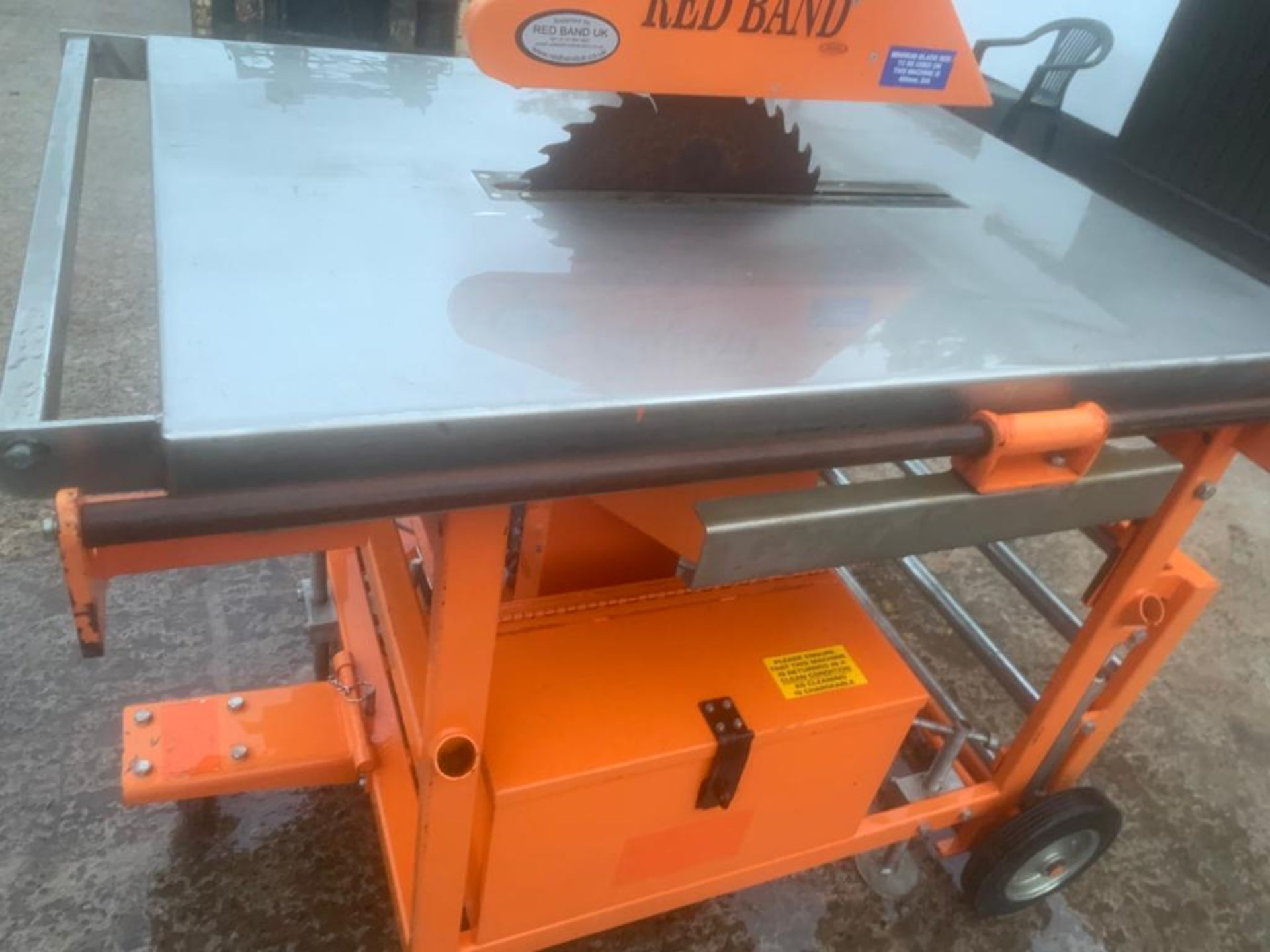 CLIPPER PETROL TABLE SAW *PLUS VAT* - Image 5 of 8