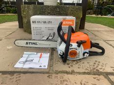 "BRAND NEW AND UNUSED STIHL MS181C CHAINSAW, C/W MANUAL, TOOLS, BOXED, 16"" BAR & CHAIN *NO VAT*"