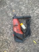 HILTI DD 110 DIAMOND CORE DRILL 110V UNTESTED, DELIVERY ANYWHERE UK £10 *PLUS VAT*
