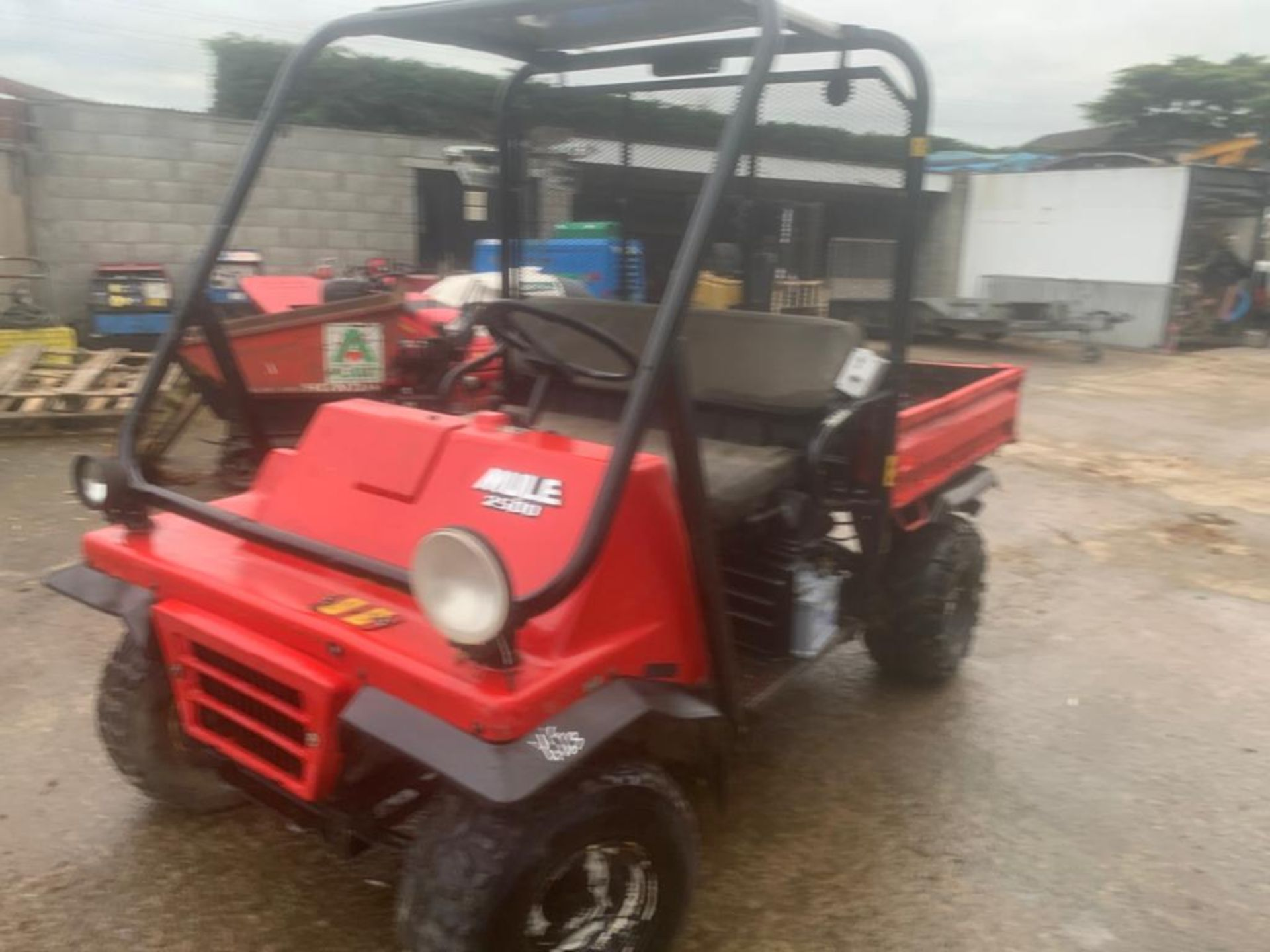 KAWASAKI PETROL MULE, DELIVERY ANYWHERE IN THE UK £300, STARTS, RUNS AND DRIVES *PLUS VAT* - Image 2 of 7