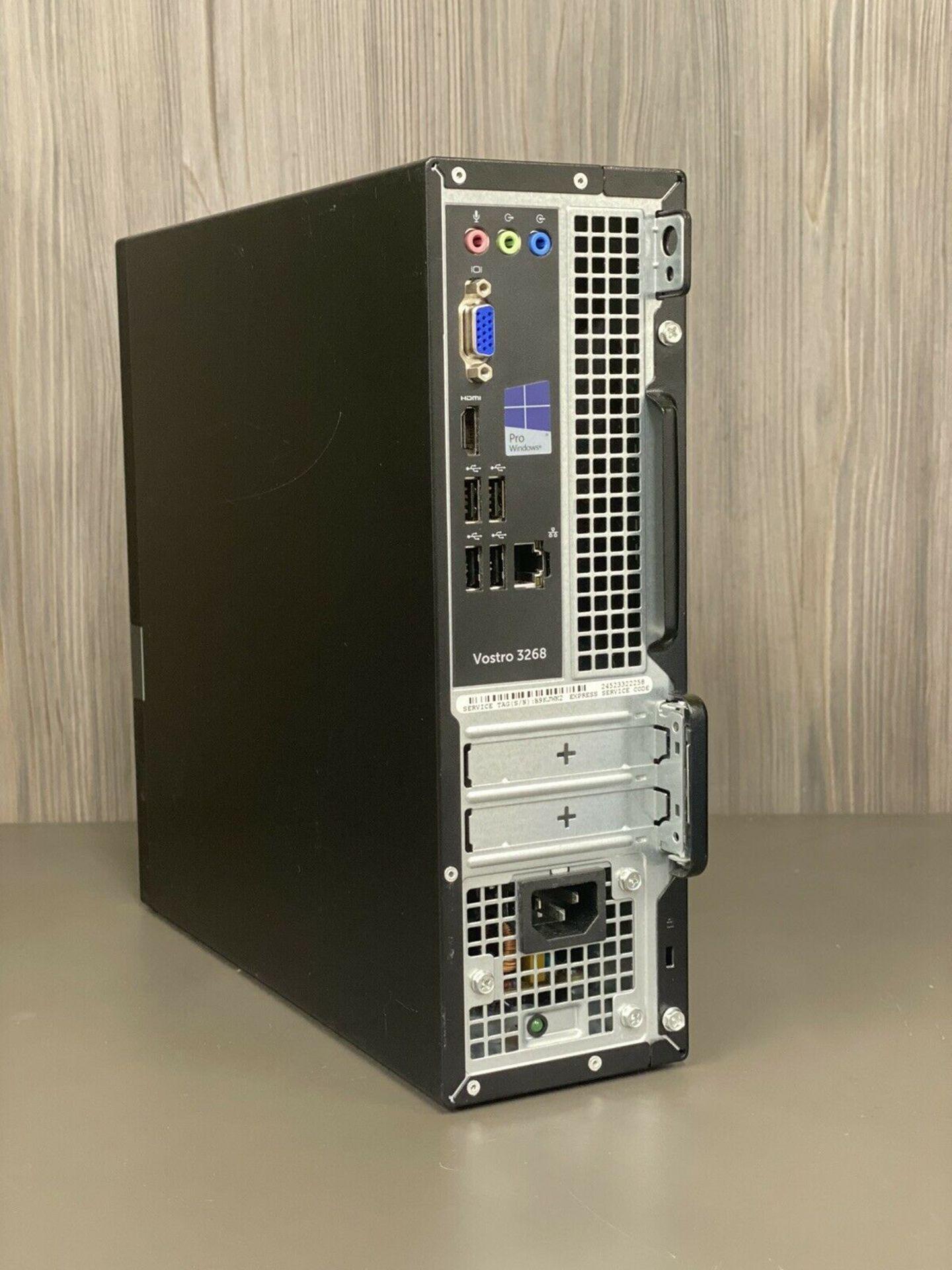 DELL VOSTRO 3268 PC INTEL I3 7TH GEN 7100 3.9GHz 4GB RAM 1TB HDD WINDOWS 10 *PLUS VAT* - Image 2 of 2
