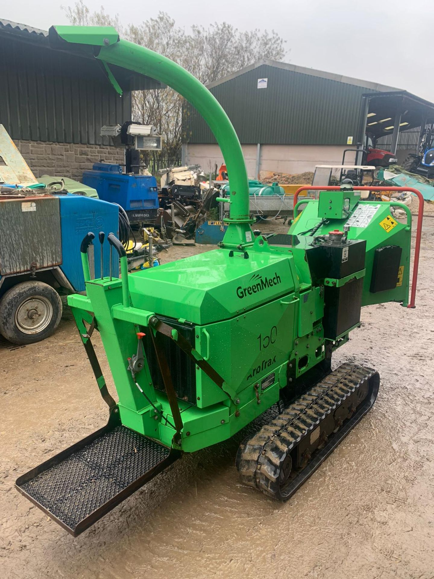 2014 GREENMECH ARB TRACK 150-35 STAND ON / WALK BEHIND WOOD CHIPPER, RUNS, DRIVES & CHIPS *PLUS VAT* - Image 2 of 5