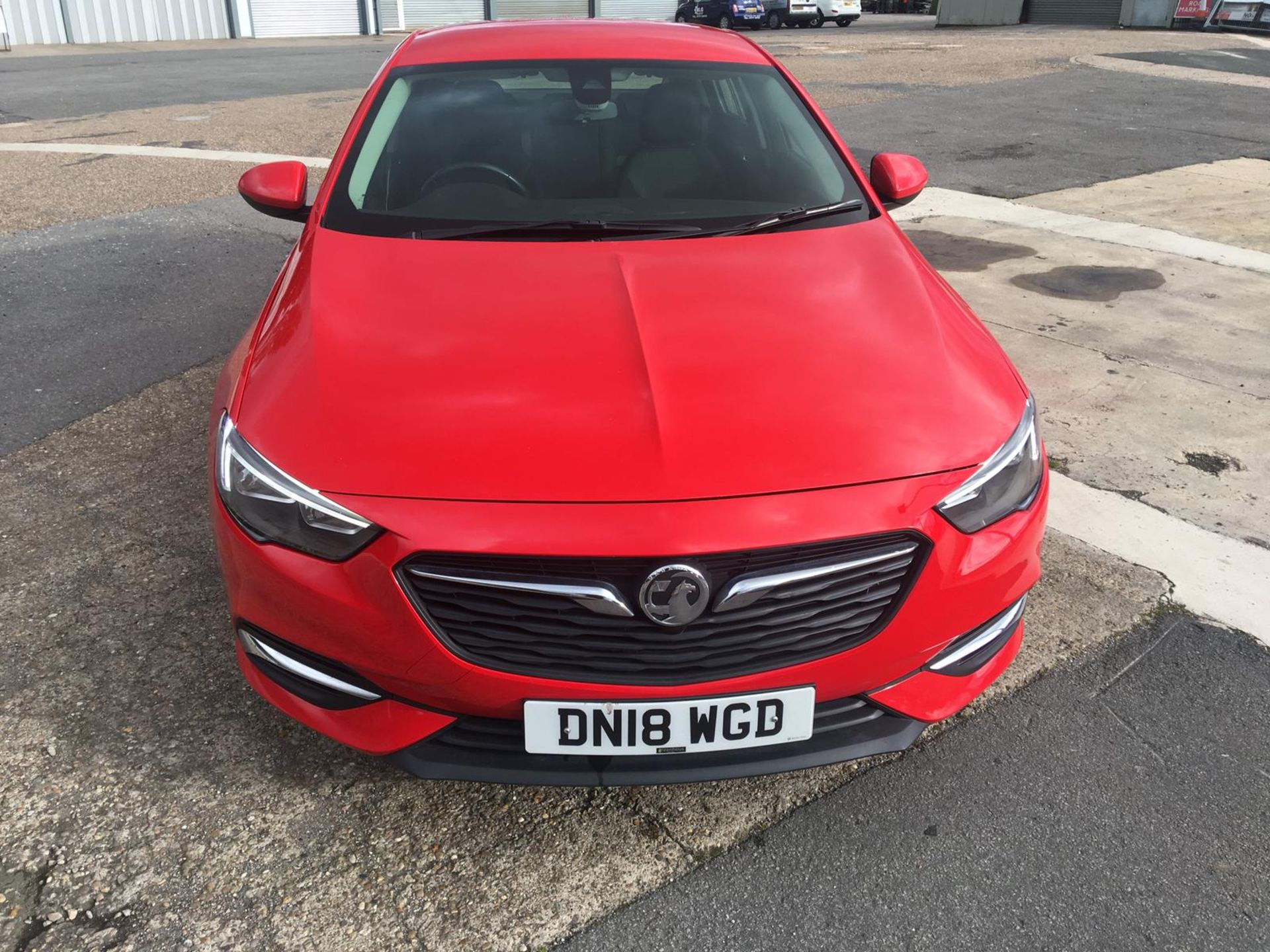 2018/18 REG VAUXHALL INSIGNIA DESIGN ECOTEC TURBO 1.6 DIESEL RED, SHOWING 0 FORMER KEEPERS *NO VAT* - Image 2 of 34