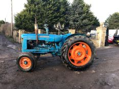 FORDSON SUPER MAJOR VINTAGE TRACTOR, RUNS AND WORKS WELL *PLUS VAT*