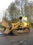 CATERPILLAR 951 TRACKED DOZER, RUNS AND WORKS, 4 IN 1 BUCKET *PLUS VAT*