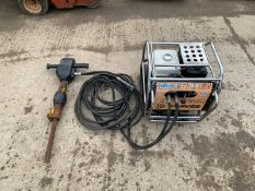 2018 JCB BEAVER PACK, HONDA GX240 PETROL ENGINE, RUNS AND WORKS, LOW VIBRATION GUN, HM25LV *NO VAT*