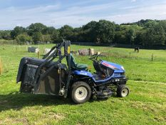 ISEKI SXG19 RIDE ON LAWN MOWER HIGH LIFT COLLECTOR, RUNS WORKS & CUTS, YEAR 2010 *PLUS VAT*