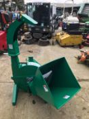 BRAND NEW AND UNUSED WOOD CHIPPER, SUITABLE FOR COMPACT TRACTOR *PLUS VAT*