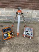 SOKIA TOTAL STATION LASER LEVEL WITH TRI POD & LEVEL GUIDE *PLUS VAT*
