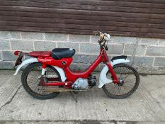 HONDA PC50 MOPED, MILEAGE: 2712, REG: 188WZ, HPI CLEAR *NO VAT*