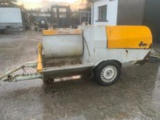 Uniform turbo sol plastering screeding machine . Lombardini Diesel engine untested