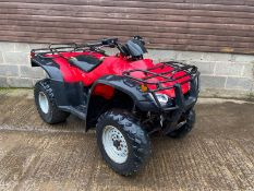 HONDA TRX350 FARM QUAD, STARTS, RUNS AND DRIVES, LIGHTS ALL WORKING, TOW BAR *PLUS VAT*