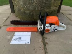 Stihl MS251C Chainsaw Runs And Works Ex Demo Condition Bought Brand New This Year *NO VAT*
