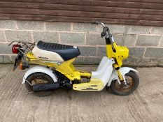 1982 HONDA CAREN 50CC MOPED, PETROL, DOCUMENTS WILL NEED APPLYING FOR, MILEAGE: 7705 *NO VAT*