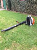 STIHL BACK PACK LEAF BLOWER, MODEL: BR430, MANUFACTURED 06/2016, EXCELLENT WORKING CONDITION