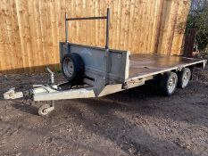 Graham Edwards FB2512 12ft trailer *PLUS VAT*