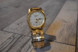 CITIZEN AUTOMATIC 21 JEWELS WITH DATE WRIST WATCH, APPROX 38MM FACE *NO VAT*