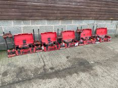 5 X HILTI 110V CORE DRILLS AND STANDS, ALL DIRECT FROM LOCAL CONTRACTING COMPANY *PLUS VAT*