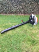 STIHL BACK PACK LEAF BLOWER, MODEL: BR500, MANUFACTURED 07/2017, NEVER USED, CHOICE OF 2 *PLUS VAT*