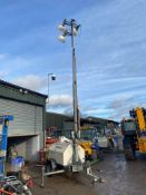 TEREX RL4000 LIGHTING TOWER, RUNS, WORKS AND POWERS UP, ONLY 1379 HOURS *PLUS VAT*