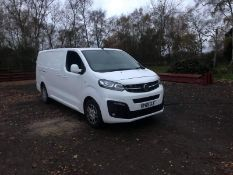 2019/69 REG VAUXHALL VIVARO 2900 SPORTIVE 1.5 DIESEL WHITE VAN, SHOWING 0 FORMER KEEPERS *PLUS VAT*