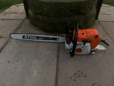 """Stihl MS441C Chainsaw Runs And Works 25"""" Bar And Chain *NO VAT*"""