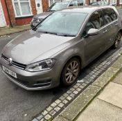 2014/14 REG VOLKSWAGEN GOLF GT BLUEMOTION TEC TDI S-A 2.0 DIESEL HATCHBACK, SHOWING 1 FORMER KEEPER