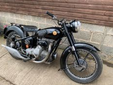 1958 SUNBEAM 500CC CLASSIC MOTORCYCLE, IN OUTSTANDING CONDITION! *NO VAT*