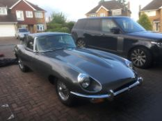 1969 JAGUAR E-TYPE SERIES 2 4.2L PETROL COUPE MANUAL SHOWING 1 FORMER KEEPER *NO VAT*