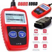DIERYA FAULT CODE READER SCANNER ENGINE CAR DIAGNOSTIC RESET TOOL OBD 2 CAN EOBD MS309 *PLUS VAT*